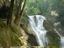 Waterfall. The view of  the waterfall Royalty Free Stock Photography