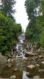 Waterfall. In Viktoriapark in Berlin, Germany Royalty Free Stock Image
