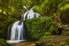 Waterfall in the Vosges Stock Image