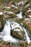Waterfall in Vosges. Waterfall of the Tendon in Vosges Royalty Free Stock Images