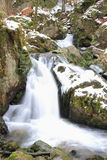 Waterfall in Vosges Stock Photos