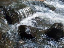 Waterfall in Vrnjacka banja. Beautiful close-up on waterfall in center of Vrnjacka banja Royalty Free Stock Image