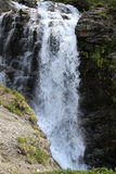 Waterfall. Walk in the mountains of Khibiny Royalty Free Stock Photos