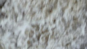 Waterfall wall of water. Abstract background stock video