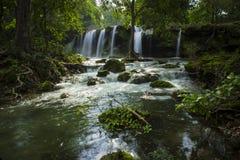 Waterfall - wallpaper. Wafterfall shot at near indore Royalty Free Stock Image