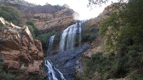 Waterfall at Walter Sisulu Botanical Gardens, South Africa Royalty Free Stock Photography