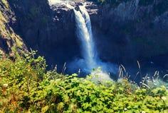 Waterfall in Washington Stock Photography