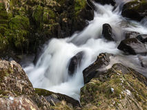 Waterfall at Watendlath Tarn Stock Photography