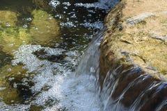 Waterfall. Water fall indoor garden sunshine Stock Photo