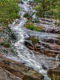 Sri Perigi Waterfall, Yan, Kedah, Malaysia. Water fall rock stone landscape royalty free stock image