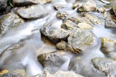 Waterfall. Water flow in Thai waterfall Royalty Free Stock Photo