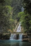 Waterfall, Water, Nature, Vegetation stock photo