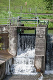 Waterfall - water - river - barrage Royalty Free Stock Photos