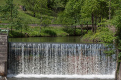 Waterfall - water - river - barrage - water power Royalty Free Stock Images
