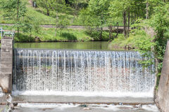 Waterfall - water - river - barrage - water power Stock Photo
