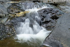 Waterfall. Water stone play travel background stock photography