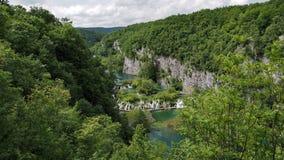 Waterfall in Croatia Stock Photography