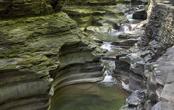 Waterfall, Watkins Glen State Park, New York, No.  Stock Photography