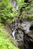Waterfall Watkins Glen State Park Stock Images