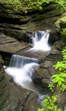 Waterfall Watkins Glen State Park Stock Photo