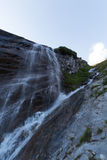 Waterfall on the way to Grossglockner, Austria Royalty Free Stock Images