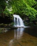 Waterfall - West Burton - Couldron Falls Royalty Free Stock Photos