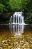 Waterfall - West Burton - Couldron Falls Stock Photography