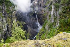 Waterfall in the west of Norway Stock Image