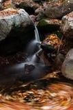Waterfall whirl Stock Photo