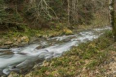Waterfall whirlpools Royalty Free Stock Image