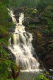 Waterfall White Bridges in Karelia, Russia Royalty Free Stock Image