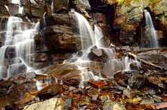 Waterfall wide angle Royalty Free Stock Photo