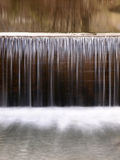 Waterfall in winter Royalty Free Stock Photography