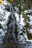 Waterfall on Cypress Mountain Royalty Free Stock Image