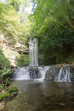 A waterfall in the woods, Ireland. A waterfall in north west ireland Royalty Free Stock Images