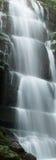 Waterfall. On cliff ,splashing on stone in bifengxia,yaan Stock Photo