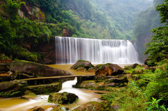 Waterfall of world heritage Royalty Free Stock Images