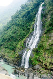 Waterfall in Wulai District, Taiwan Stock Image