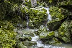 Waterfall at Wulong National Park Royalty Free Stock Photo