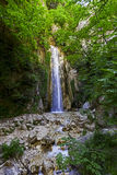 A waterfall in a WWF oasi. Shooting of a waterfall in a WWF oasi Stock Photo