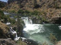 Waterfall x3 Royalty Free Stock Photo