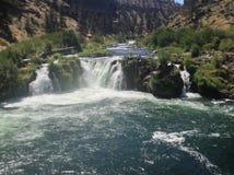 Waterfall x3 Stock Photo