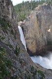 Waterfall in Yellowstone Stock Photo