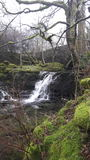 Waterfall yorkshire dales Stock Images