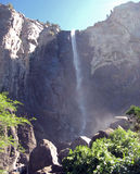 Waterfall in yosemite Stock Photography