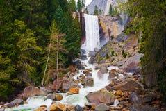 Waterfall in Yosemite Royalty Free Stock Photo