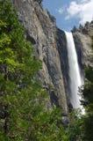 Waterfall in yosemite Royalty Free Stock Photography