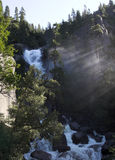 Waterfall in Yosemite Stock Images