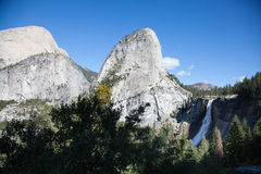 Waterfall in Yosemite Stock Photo