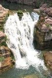 Waterfall in Yuntai mountain of China Stock Image